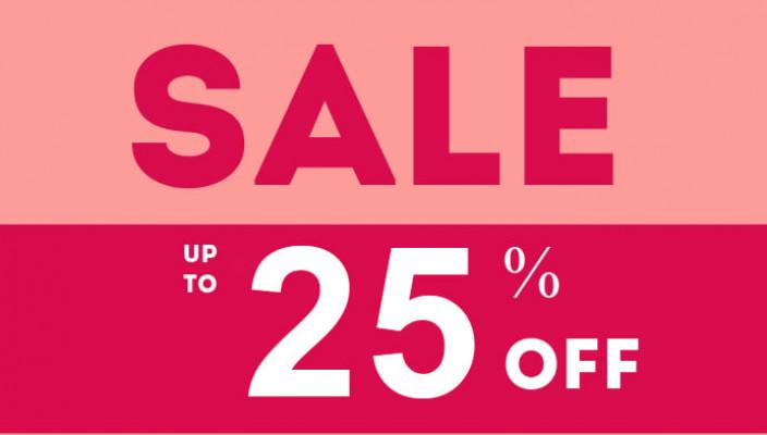 Sale of 25% cho tất cả item - SALE25P