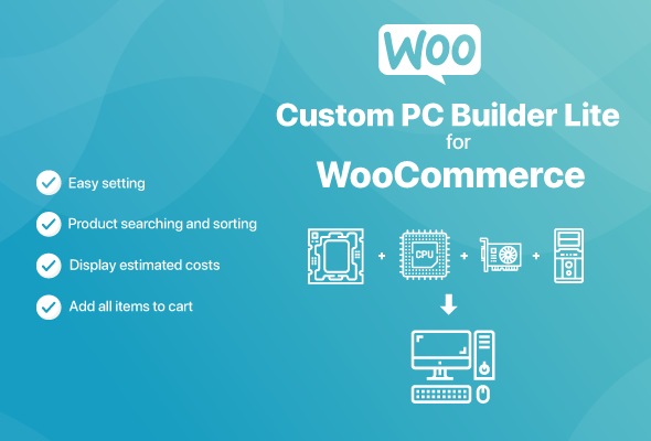 Custom PC Builder Lite for WooCommerce
